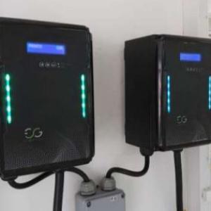 Carregador portátil para carros elétricos