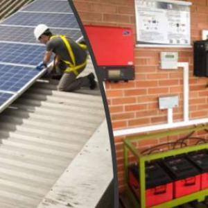 Inversor de energia solar para 220v