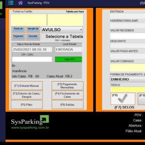 Software de estacionamento preço